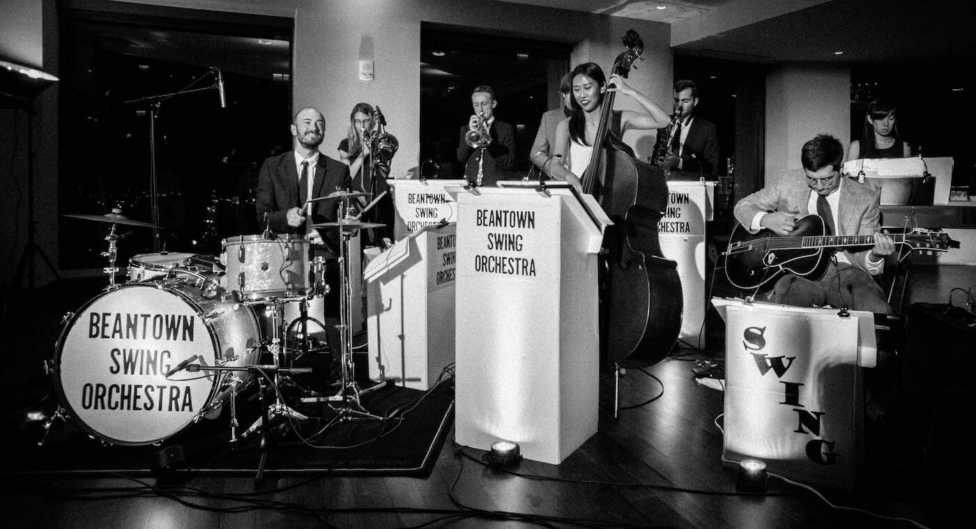 Beantown Swing Orchestra 9-piece band