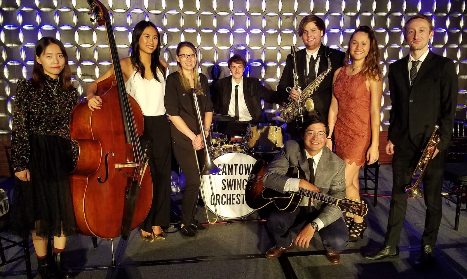Beantown Swing Orchestra 8-piece group