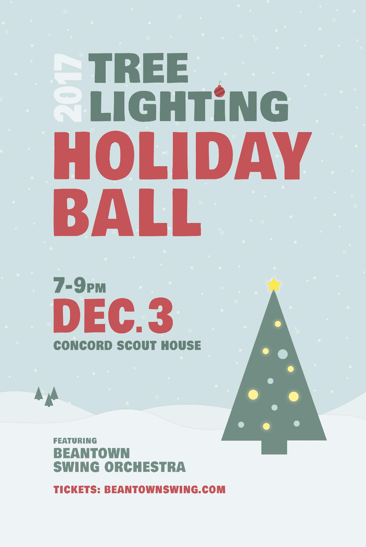 Holiday Ball poster
